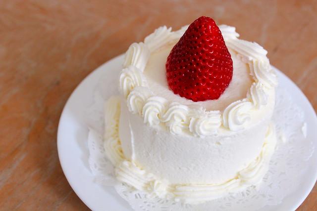 Mini Strawberry Cake