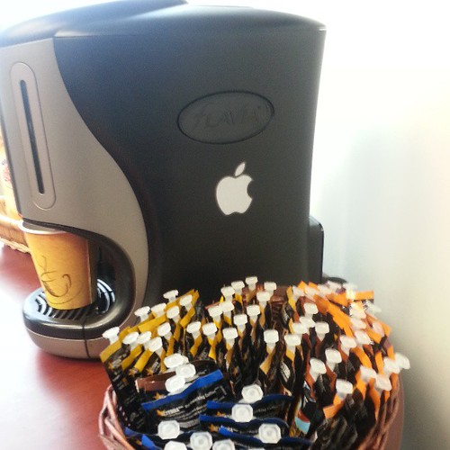 Don't panic! This is a joke. There is no Apple iCoffee