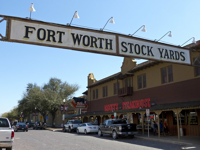 Ft. Worth Stockyards - Flickr CC seat850