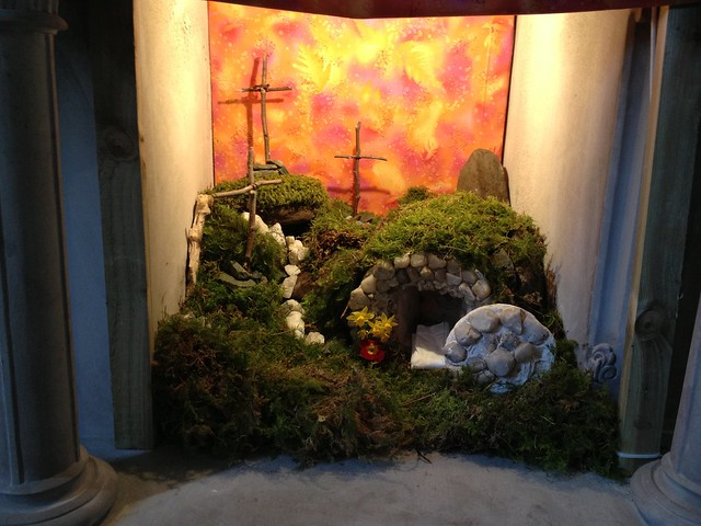 The empty tomb... from Flickr via Wylio