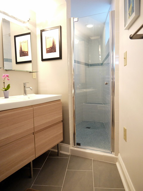 Foremost Cove Pivot Shower Door