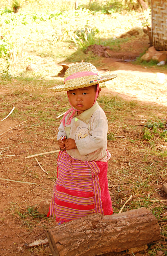 Little Girl, Hsipaw, Burma