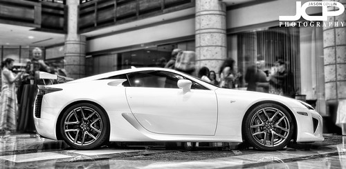 Lexus LFA at St. Petersburg Grand Prix Gala