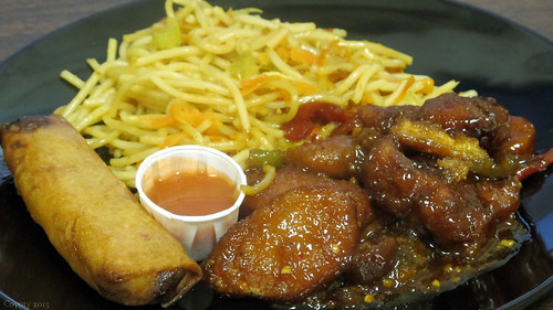 General Tso's chicken nuggets by Coyoty