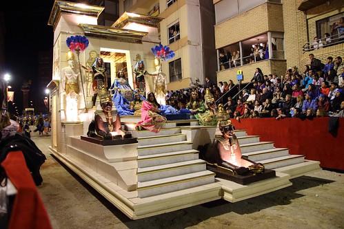 Procesión de Viernes Santo en Lorca (Murcia)