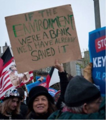 keystone-obama protest