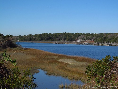 The Intercoastal Waterway from the Marsh Loops on Holden Beach, North Carolina