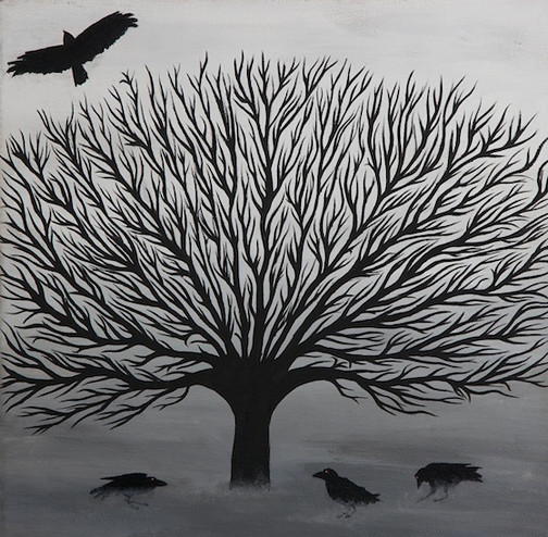 Crows from Flickr via Wylio