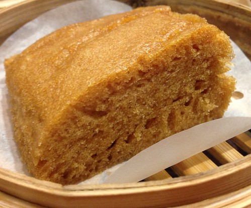 Tim Ho Wan Singapore's Signature Steamed Egg Cake. 添好運香滑马来糕