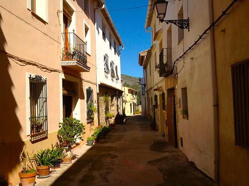calle principal La Carroja