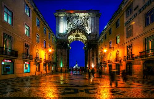 Lisbon Street, Portugal
