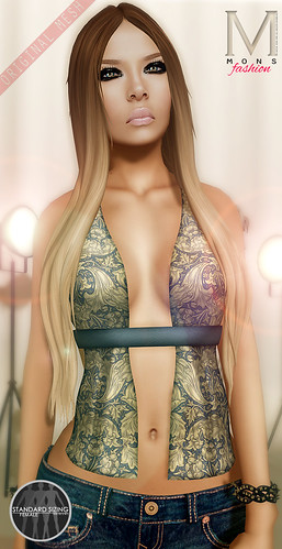 MONS / Rigged Mesh / Crop Top by Ekilem Melodie - MONS