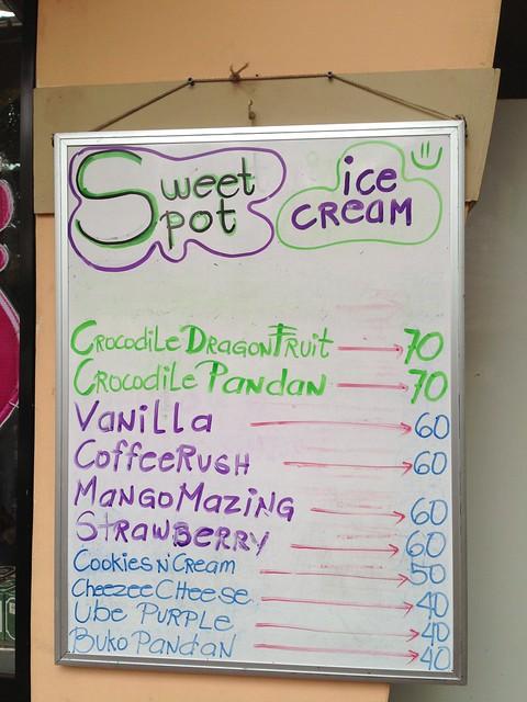 Davao Sweet Spot Artisan Ice Cream flavors