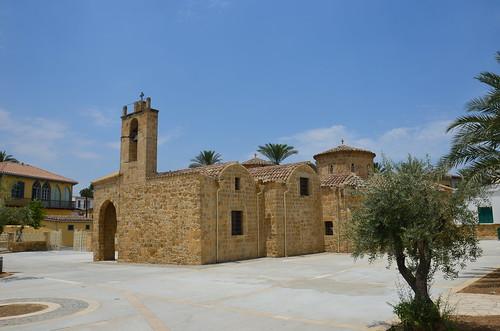 Eine kleine Kirche in Nikosia