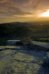 Petit Jean State Park at Sunset