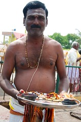 Outside Chamundeswari temple