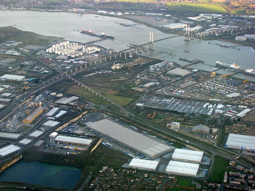 Thurrock Lakeside and the Dartford Crossing