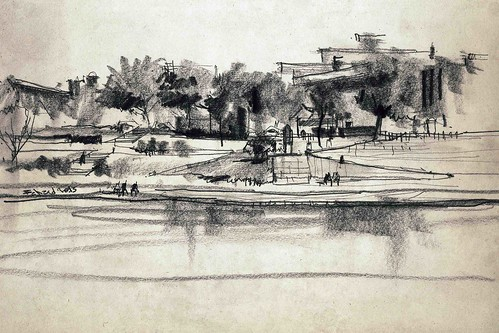 Zayandeh-Rood by Behzad Bagheri Sketches