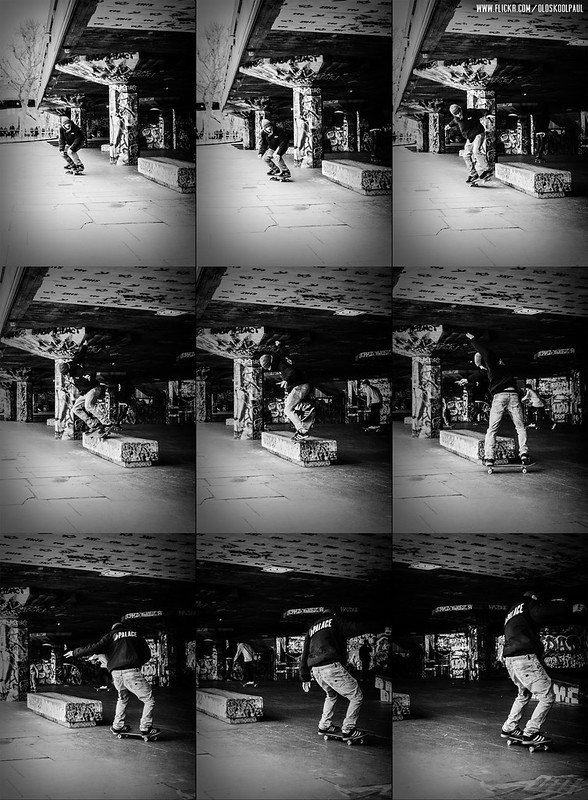 Chewy Cannon - Switch Nosegrind - Southbank - Sequence