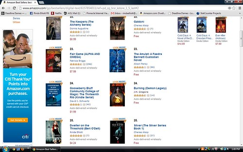 Fun with Lists & Rank at Amazon