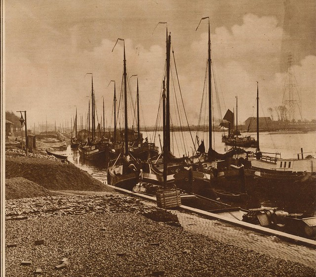 vissershaven zuiderzee 1926 | Flickr - Photo Sharing!
