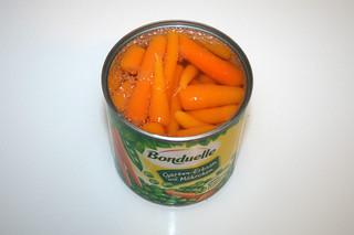 08 - Zutat Erbsen & Möhren / Ingredient peas & carrots