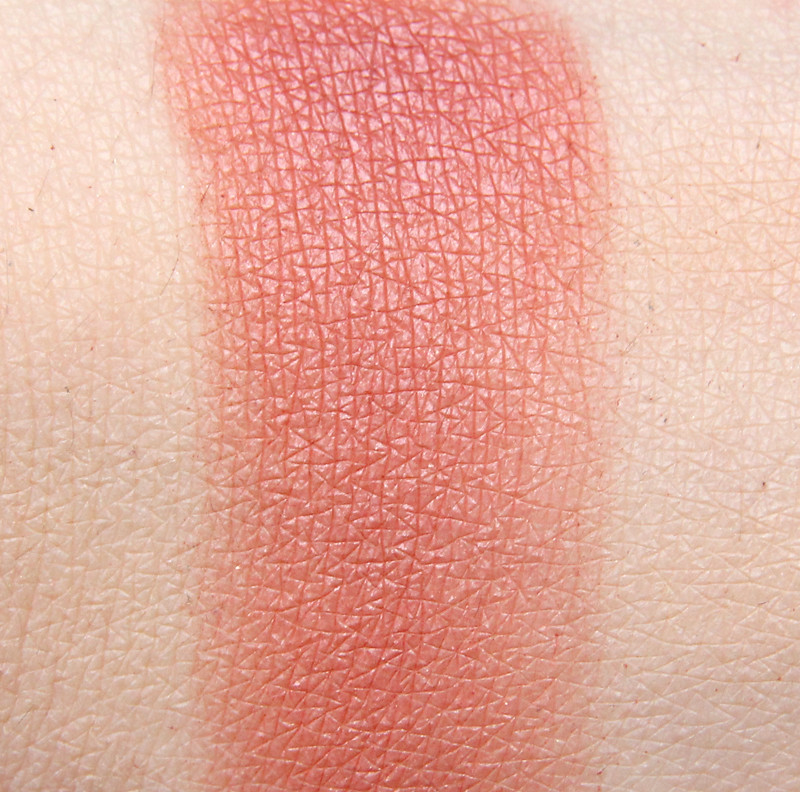 MAC Fiery impact extra dimension blush swatch