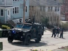 Manhunt in Watertown, April 19, 2013