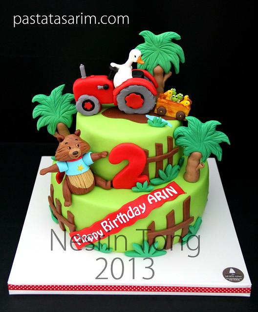 arın birthday cake