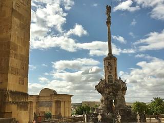 Triunfo de San Rafael képe. cordoba spain triunfodesanrafaeldelapuertadelpuente
