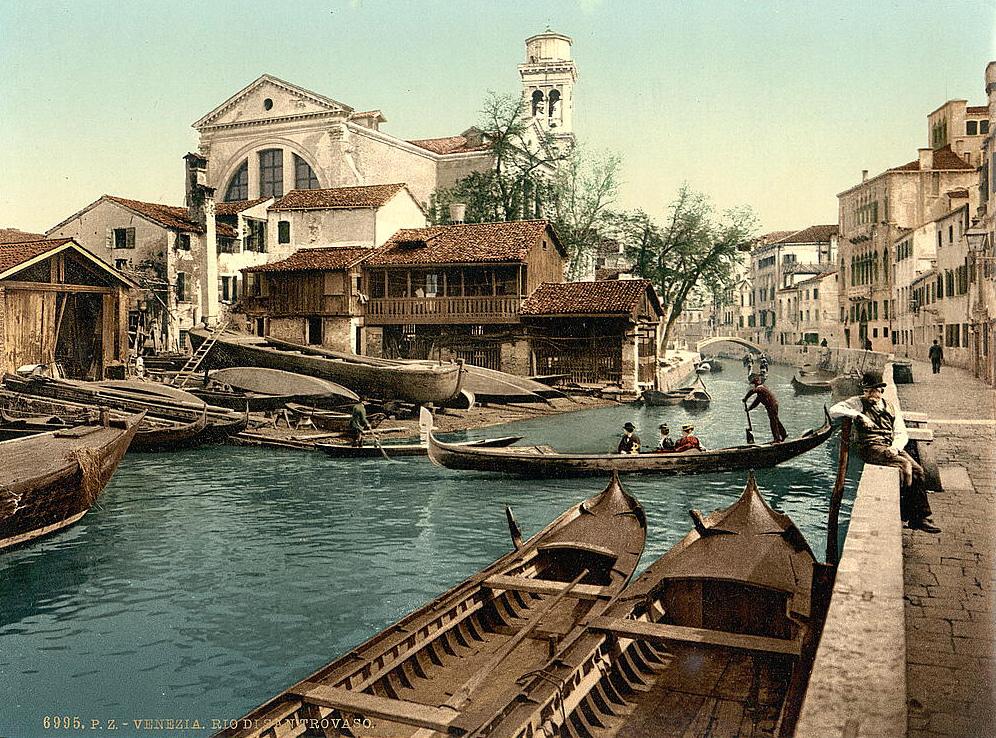 Rio di San Trovaso, Venice, Italy