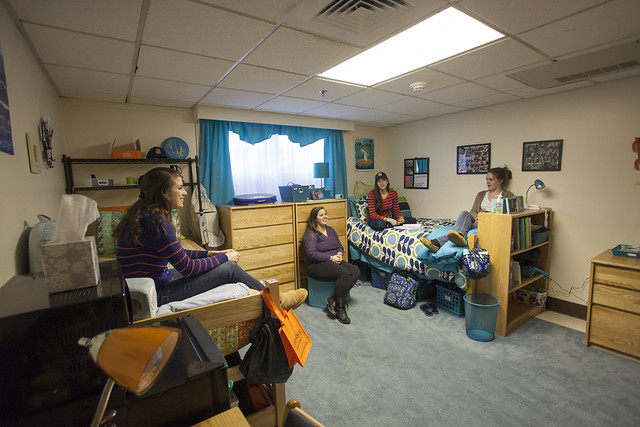Residence hall living is a vital component of the first-year student experience at Gettysburg.