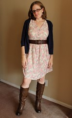 Frumpy Floral Dress Refashion - After