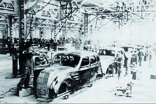 TMHE's Toyota History Part 2 – Model AA Sedan Production Line at the Koromo Plant