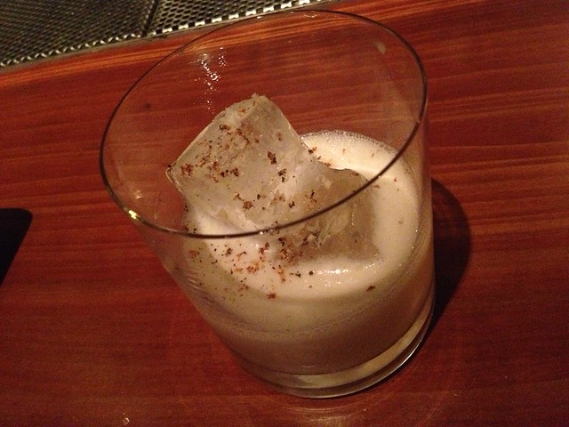 Maven's Milk Punch cocktail - Maven