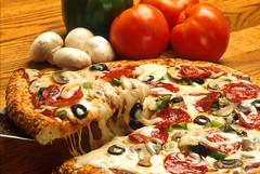 meal, vegetable, italian food, pizza, food, dish, european food, cuisine, pepperoni,