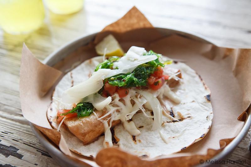Albacore Tuna taco