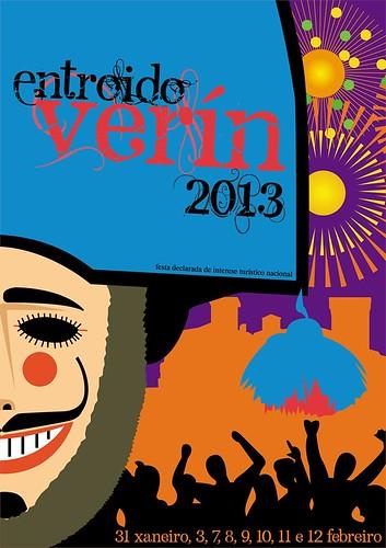 Verín 2013 - Entroido - cartel