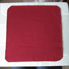 Iron Craft '13 #3 - Crocheted Flower Pillow