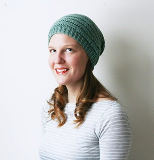 Minique's slouch in greenish grey