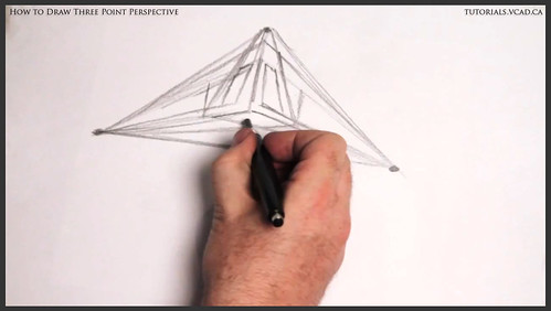 learn how to draw three point perspective 004
