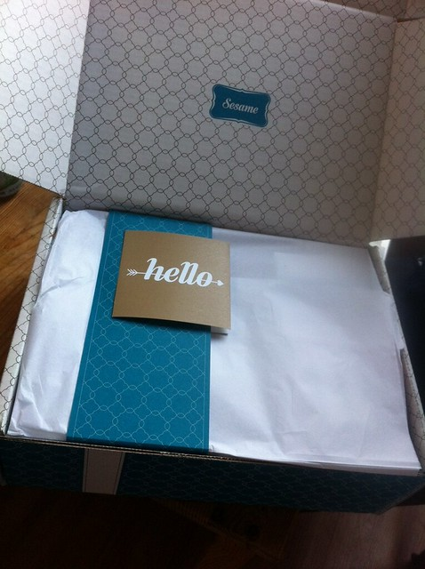 Opening our Chocolate Lover's Box from Sesame