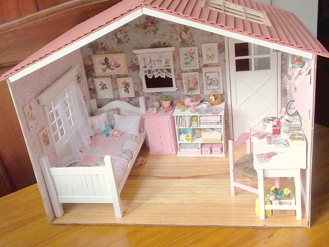 Miniature Children S Bedroom Room Box Diorama: 8473147967_2745e4e26c_z.jpg