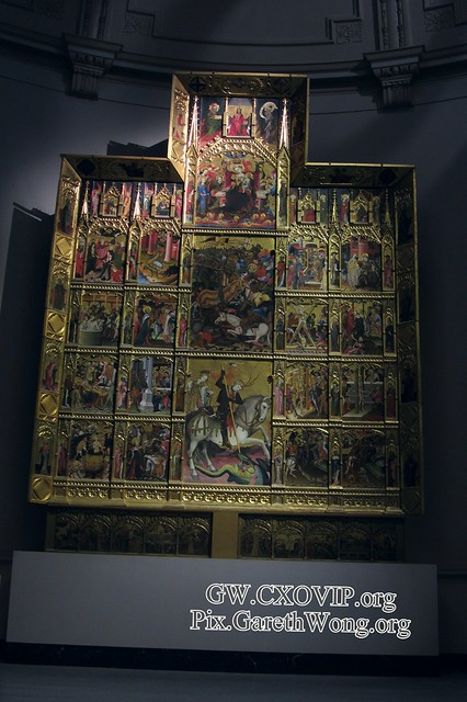 Retable of St George at Victoria & Albert Museum (its huge!) IMG_1662 Gorgeous and must view!