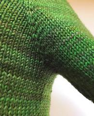 underarm detail