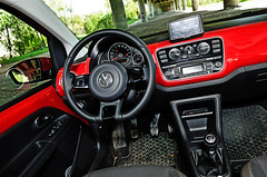 automobile, volkswagen, vehicle, automotive design, volkswagen up, steering wheel, land vehicle,