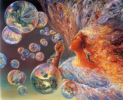008-Burbujas de flores-Josephine Wall-via www.dana-mad.ru
