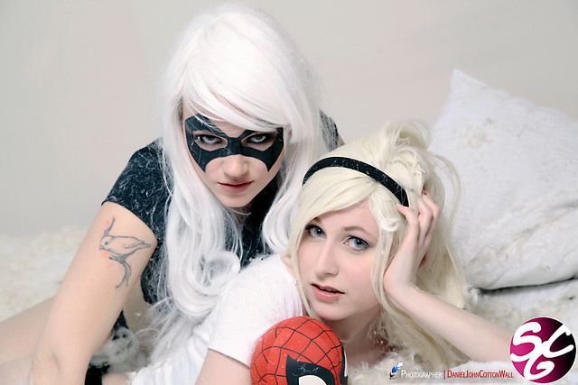 Gwen Stacy As Black Cat