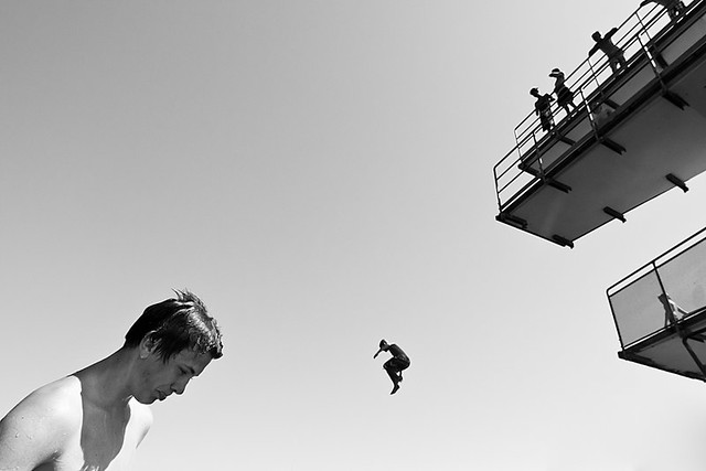 Might As Well Jump - Minimalism in Street Photography
