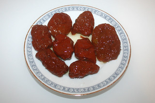 11 - Zutat getrockenete Tomaten in Öl / Ingredient dried tomatoes in oil